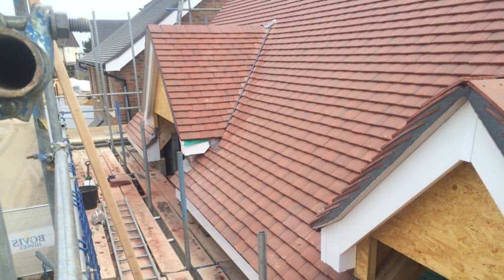Crawley roof replacement with windows
