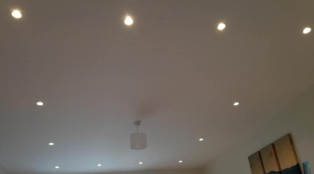 Lounge downlights Brighton