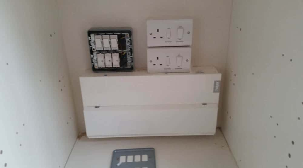 local electrician Brighton fuse board change