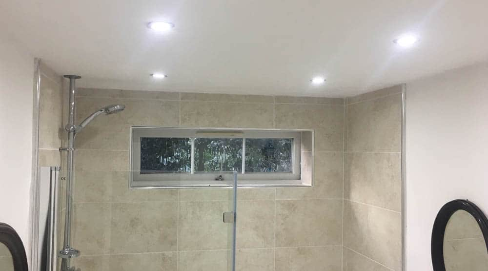 Domestic bathroom spotlights Harlow