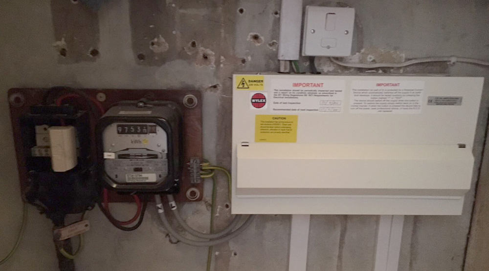 electrical contractors epping new fuse board