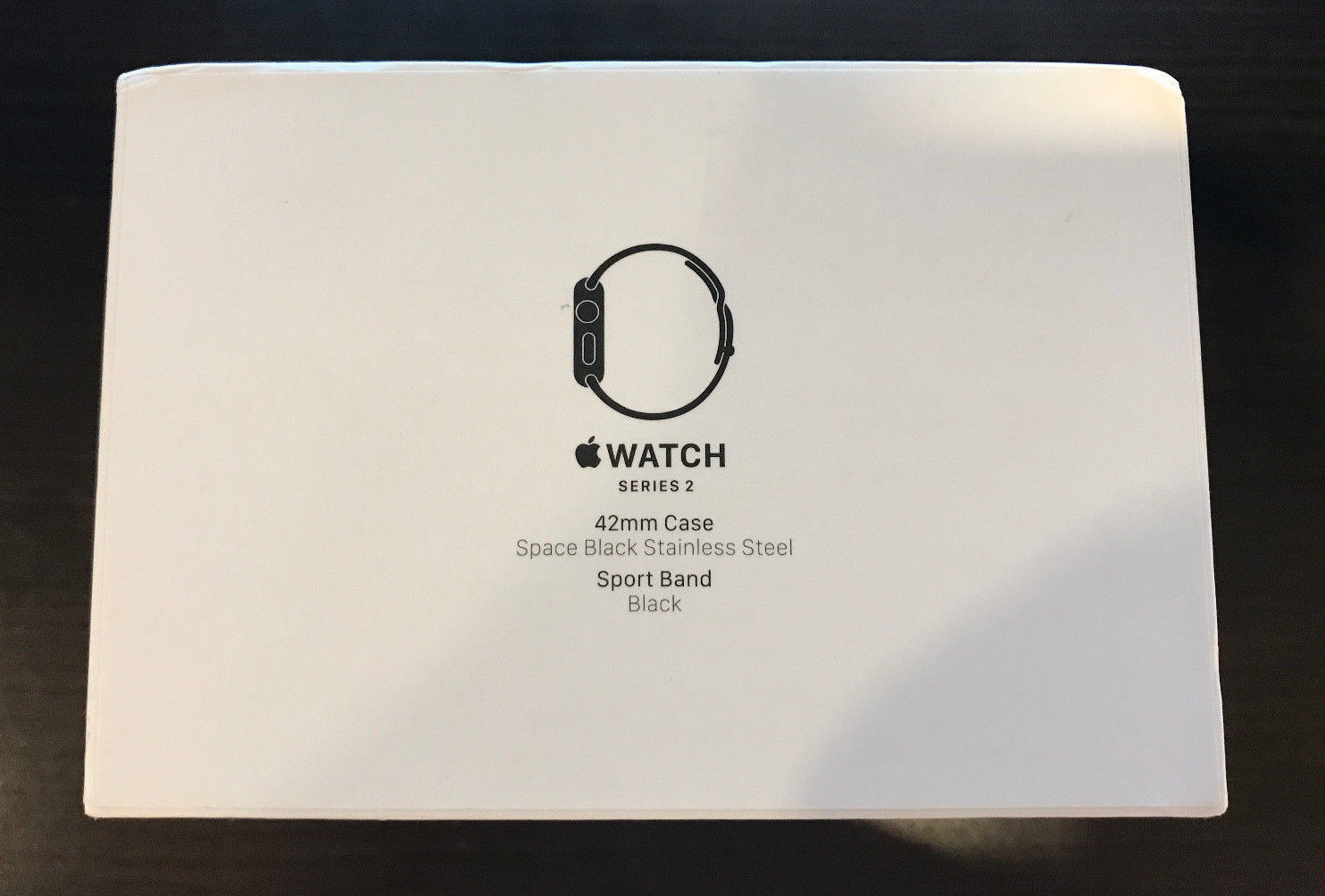 Apple Watch Series 2 42mm Space Black Stainless Steel My