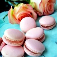 Rose Petal Confit Macarons