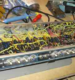recapping the twin while you wait amp repair at mytubeaudio llc rh mytubeaudio com fender twin reverb fender twin reverb speaker wiring diagram [ 2560 x 1920 Pixel ]