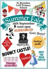St Barnabus Summer Fair Tunbridge Wells September www.mytunbridgewells.com