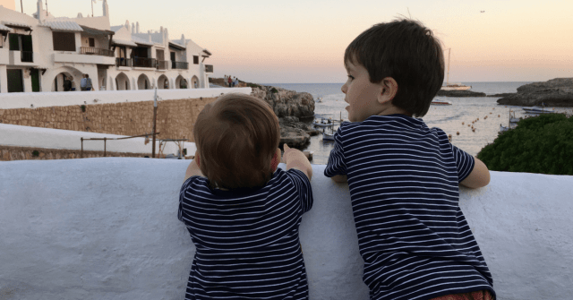 travelling abroad with kids