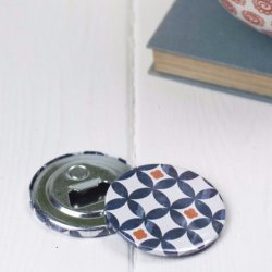 Magnet Bottle Opener in Safiya print TEB