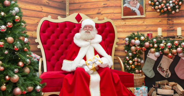Santa's Fireside Grotto at Royal Victoria Place