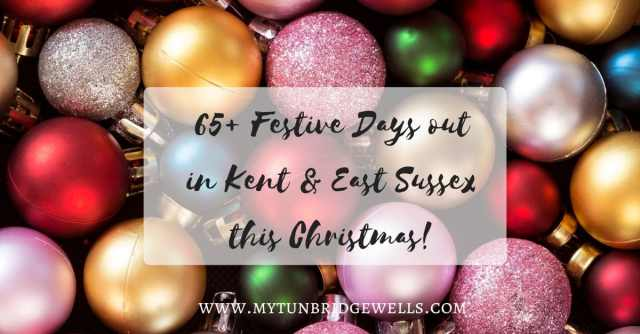 65+ Christmas Days out in Kent and East Sussex
