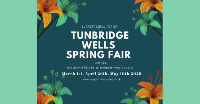 Support Local Pop Up Spring Fair Tunbridge Wells