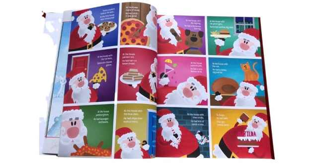 Personalised Childrens Book Christmas