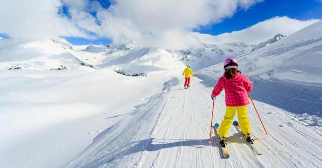 why skiing is awesome
