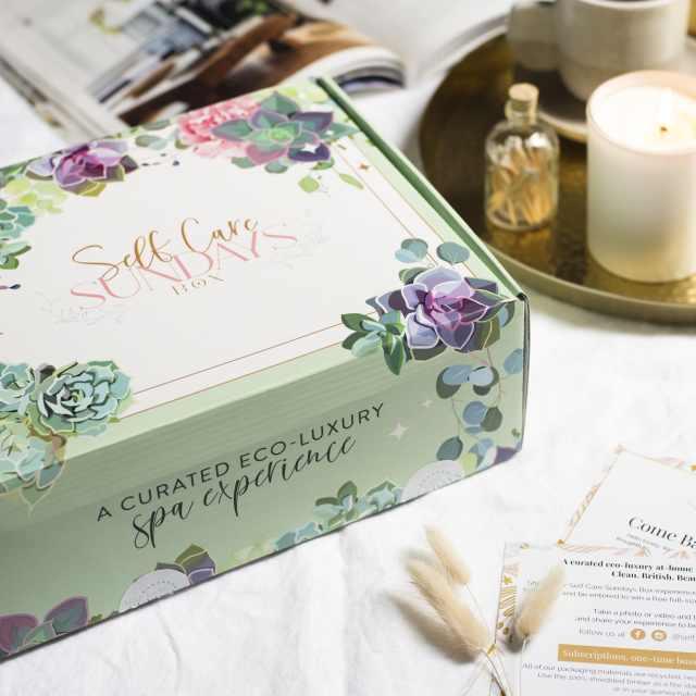 Tunbridge Wells Valentine's Day Gift Guide_Self Care Sundays Box