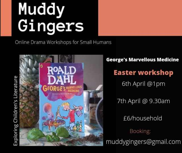 Easter Events in Kent & East Sussex_Muddy Gingers