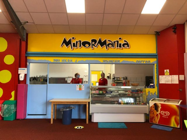 Minor Mania Soft Play