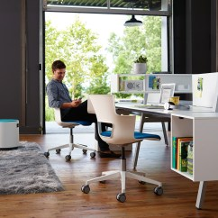 Office Chair Leaning To One Side Fun Chairs For Kids Rooms Bivi Collection Of Modular Desk Systems Turnstone