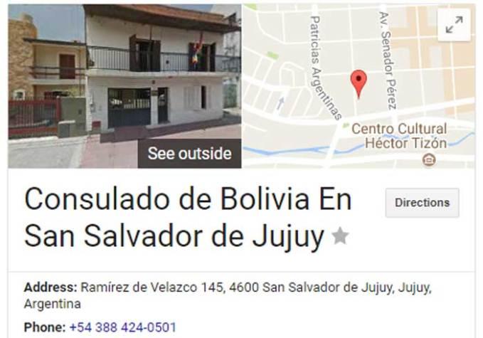 boliva-consulate-in-jujuy address