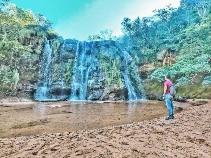 las cuevas waterfalls