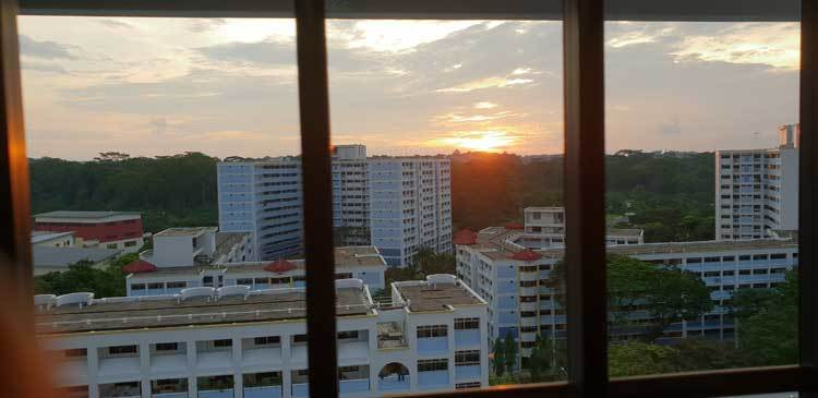Jurong-Sunset