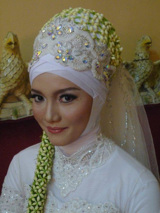 Gambar Tutorial Hijab Pashmina Bahan Sifon