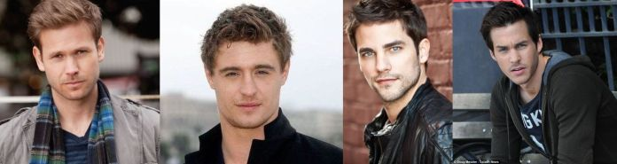 M.Prue(Matt Davis); M.Piper(Max Irons); M.Phoebe (Brant Daugherty); M.Paige (Chris Woods)