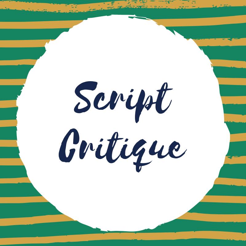 Get a Script Critique