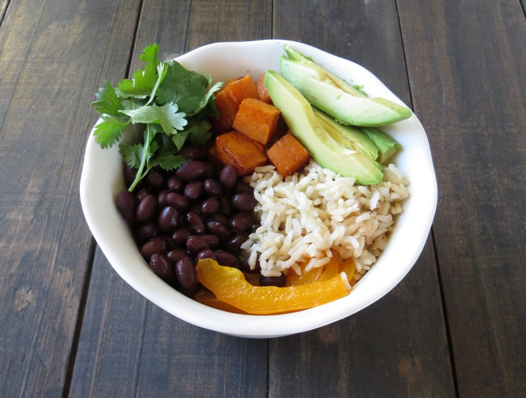 Sweet Potato Black Bean Grain Bowl