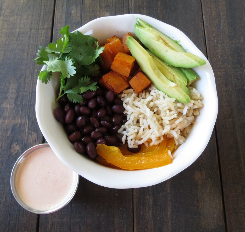 Sweet Potato Southwestern Grain Bowl