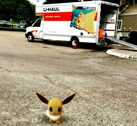 Image result for pokemon uhaul