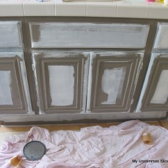 How To Paint Kitchen Cabinets Grey New Oak
