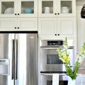 How to add glass inserts into your kitchen cabinetsmy uncommon slice