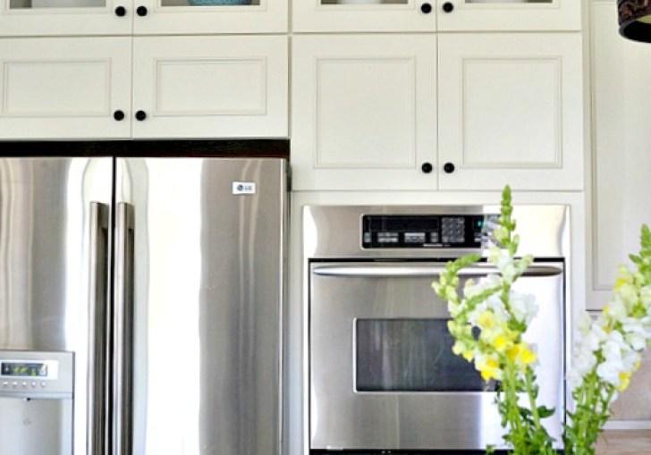 Kitchen Cabinets Adding Glass