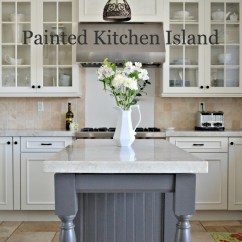 Painted Kitchen Islands Update Your Cabinets Island