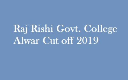 RR Govt College 2nd Cut Off 2019