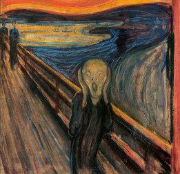 The Scream (existential angst) - Edvard Munch