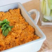 Buffalo cauliflower dip  (vegan, gluten & soy-free)