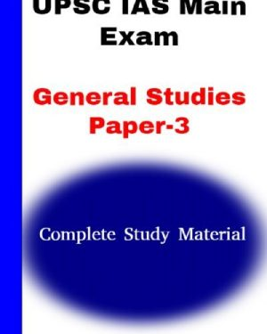 UPSC IAS main Exam GS paper-3