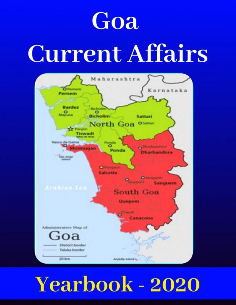 Goa General Knowledge Current Affairs Yearbook 2020