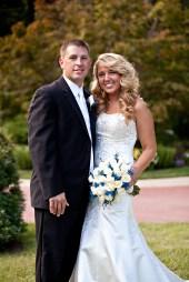 White & blue bouquet, white roses, blue wax flower, Ryan Nicholas Inn, brides in South Carolina, Florist in Greenville South Carolina