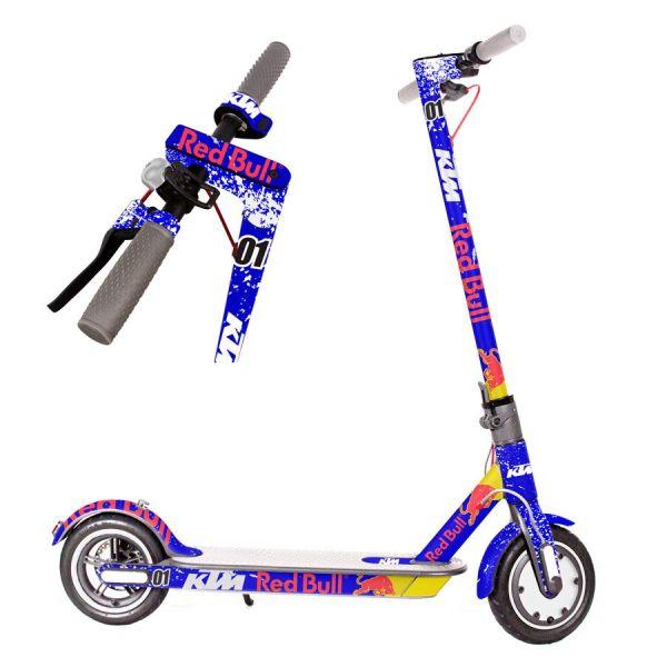 vinilos-para-patinete-electrico-xiaomi-m365-pro-xiaomi-pro2-pegatinas-vinilos-adhesivos-calcomanias-para-patine-electrico-redbull-cross-azul