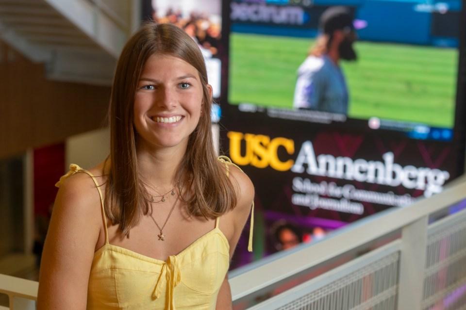 Lauren Gilmour (USC Photo)