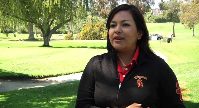 LPGA star Lizette Salas' unique bond with the Latino community