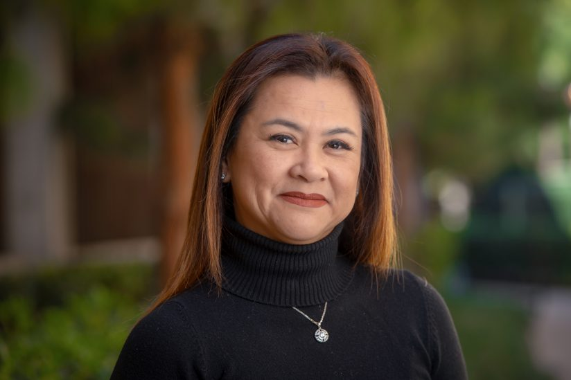 Thu Nguyen-Knowles, the new head of clinical operations for both the Engemann and Eric Cohen student health centers, portrait photo.