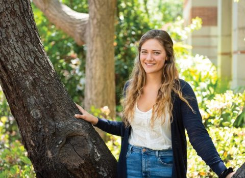 Grateful for support that made college possible, USC grad pays it forward