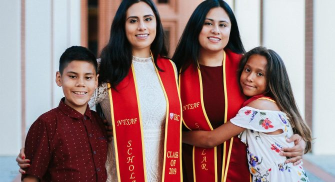 Twin sisters give back to program that helped them succeed at USC