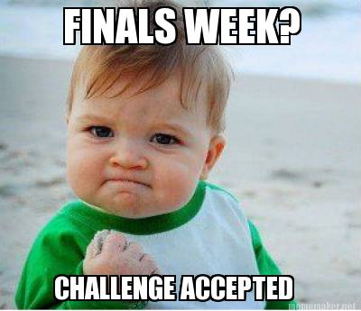 Image result for finals week image
