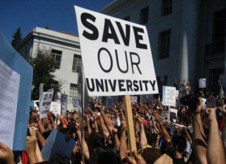 college protest
