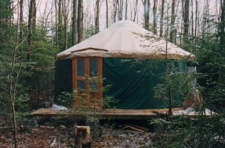 Acadia Yurt