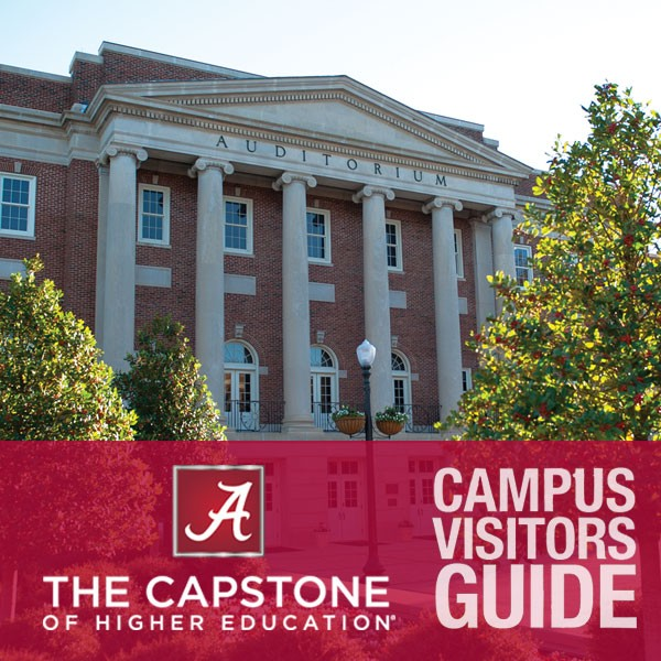 University of Alabama Campus Visitors Guide