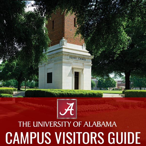 UA Campus Visitor Guide Website